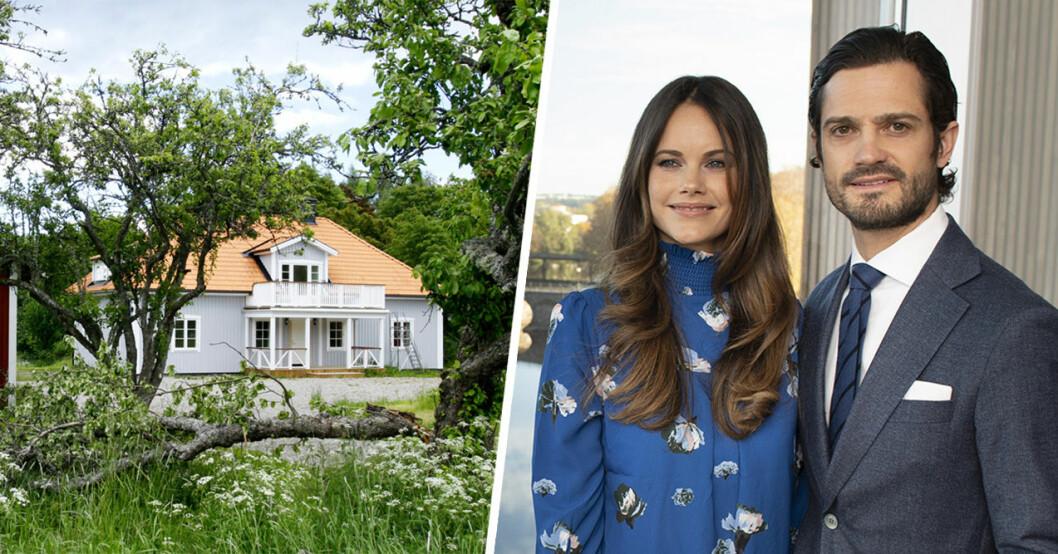 Carl Philip och Sofia älskar Ökenäs, gården prinsen ärvde.