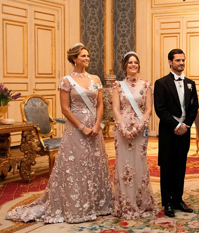 Prinsessan Madeleine prinsessan Sofia prins Carl Philip
