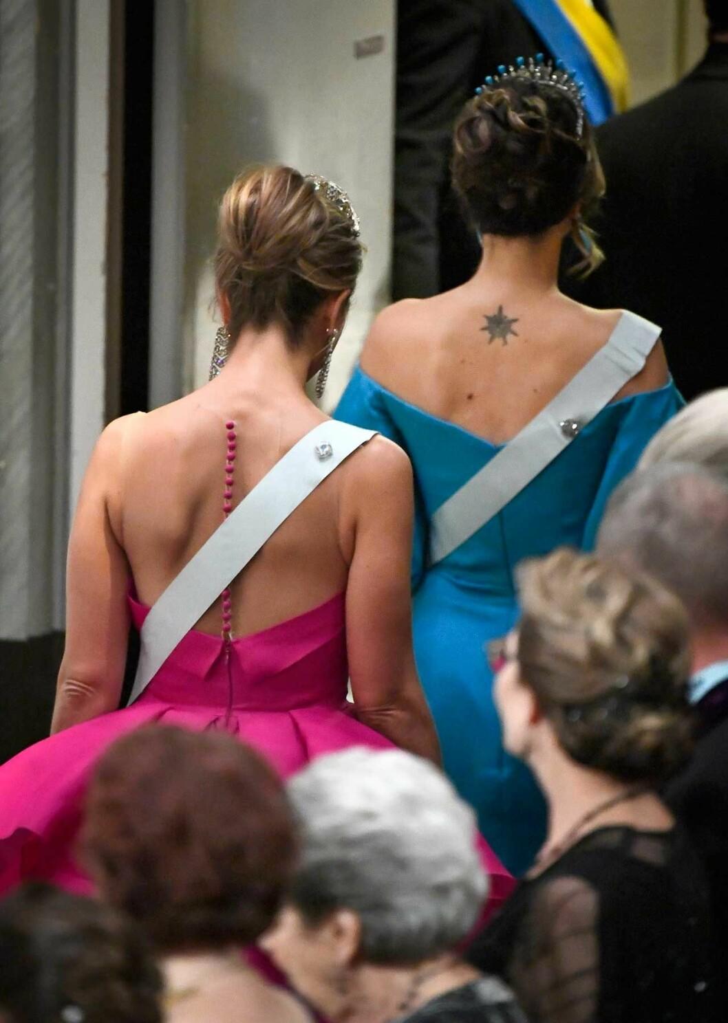 Detta är en av prinsessan Sofias tre tatueringar. De andra två sitter på ankeln respektive ryggen.