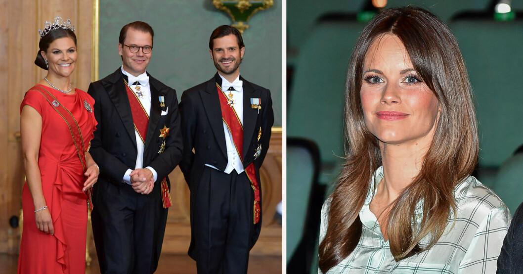 Prinsessan Sofias frånvaro under galakvällen på slottet