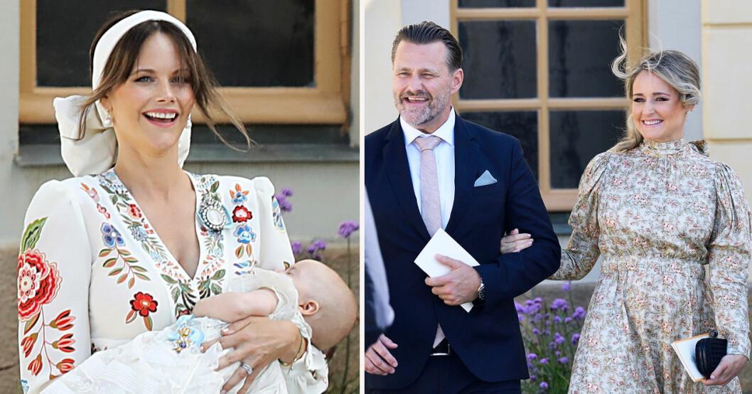 Prinsessan Sofia blir gudmor åt syster Lina Hellqvists barn