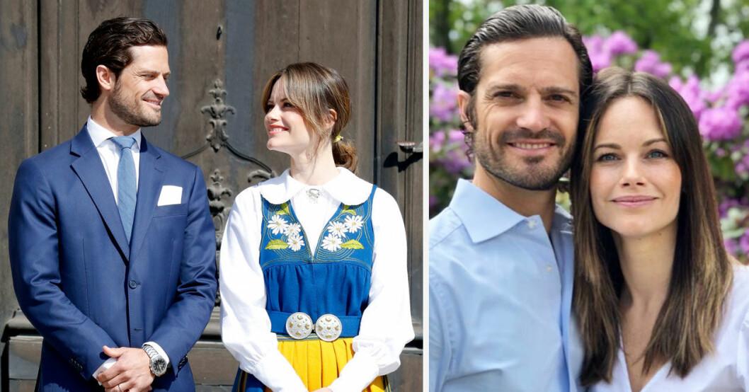 Prinsessan Sofia gör entré på nationaldagen 2021