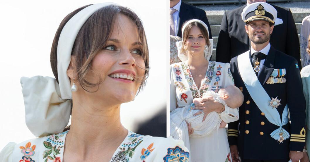 prinsessan sofias privata bild under prins julians dop 2021