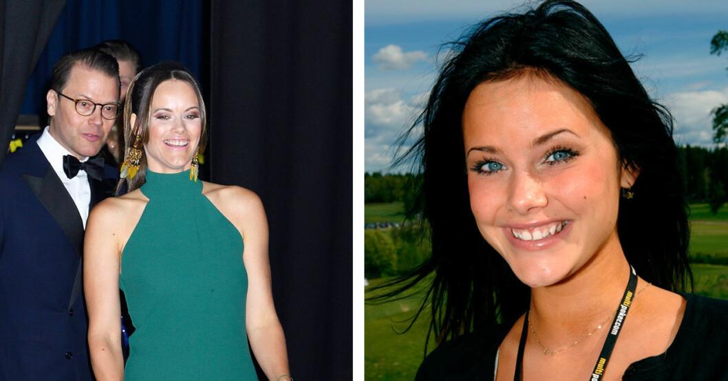 Sofias tänder har ändrats – det ser man tydligt på bilderna.