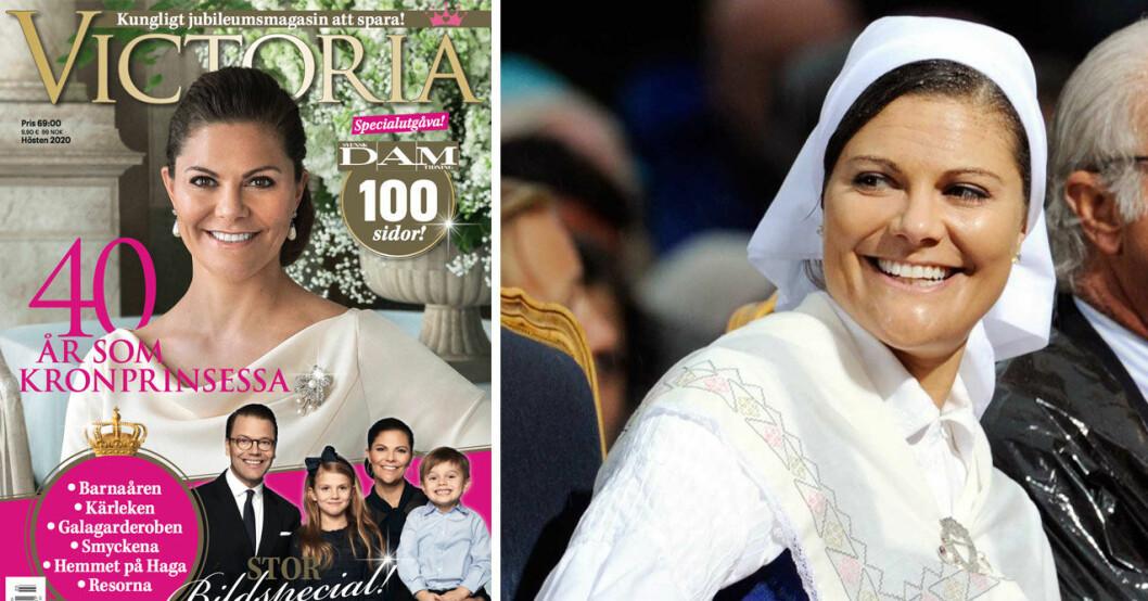 specialtidning om kronprinsessan Victoria 40 år som kronprinsessa