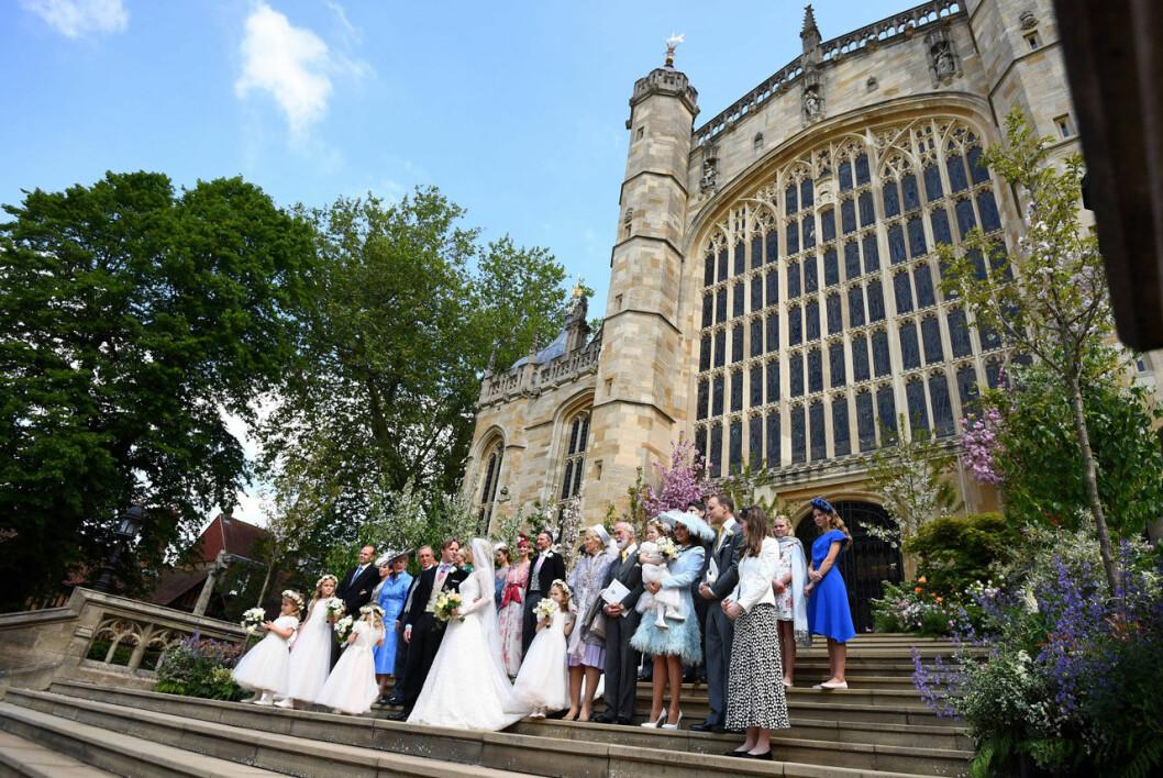 St George's Chapel på Windsor Castle.