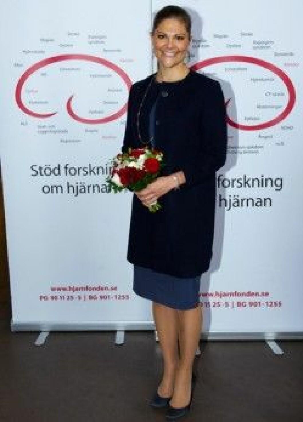 Kronprinsessan Victoria talade på Hjärnans dag   Svensk Dam