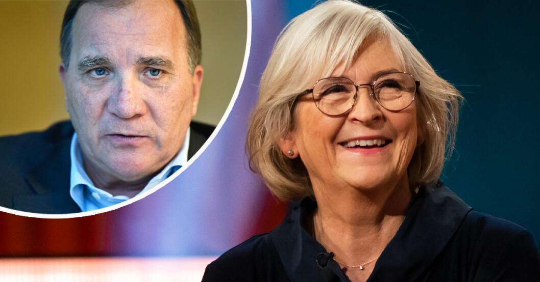 Stefan Löfven och Ulla Löfven