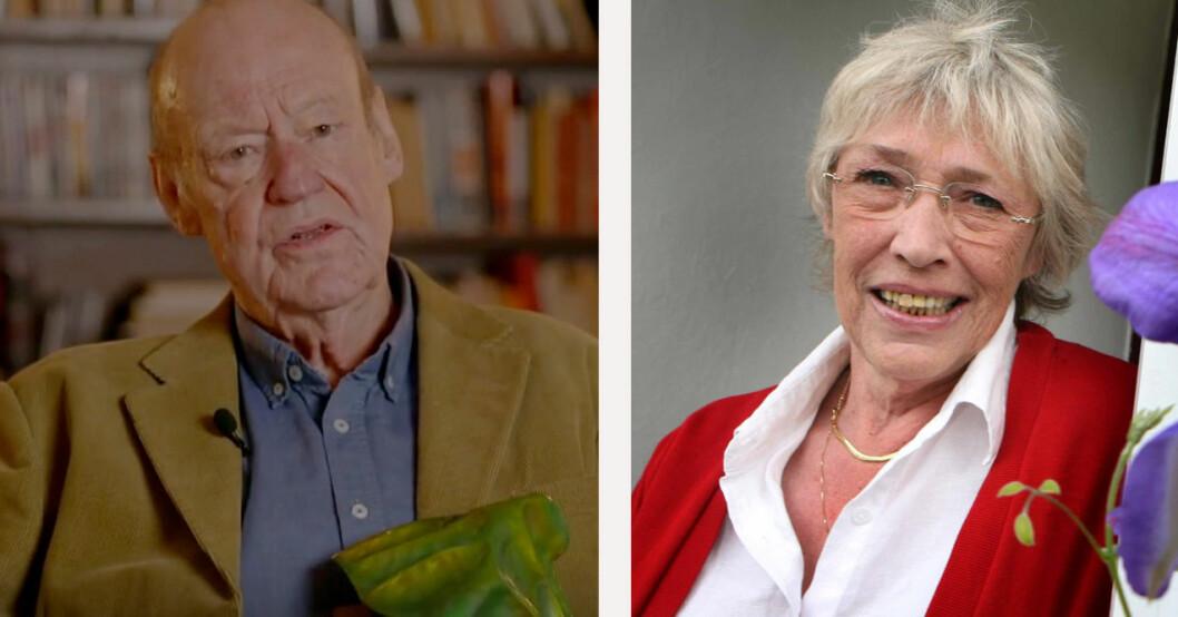 Sten Ljunggren och Barbro Oborg