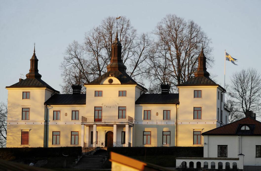 Slottet Stenhammar utanför Flen.