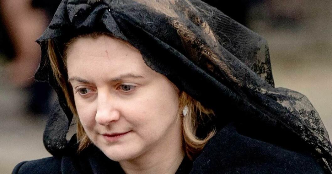 Prinsessan Stephanie begravning av Luxemburg