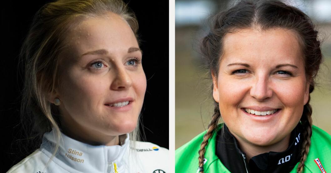 Stina Nilsson och Johanna Skottheim