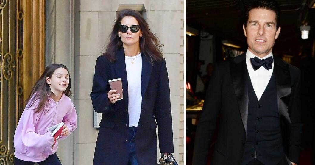 Suri och Tom Cruise har inte träffat varandra på sju år.