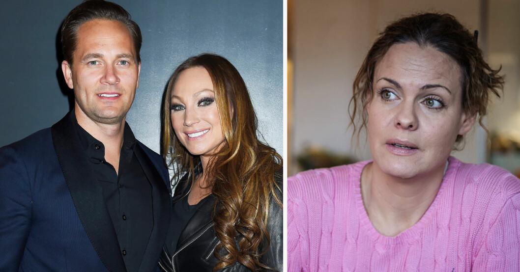 Anders Jensen, Charlotte Perrelli och Suzanne Sjögren