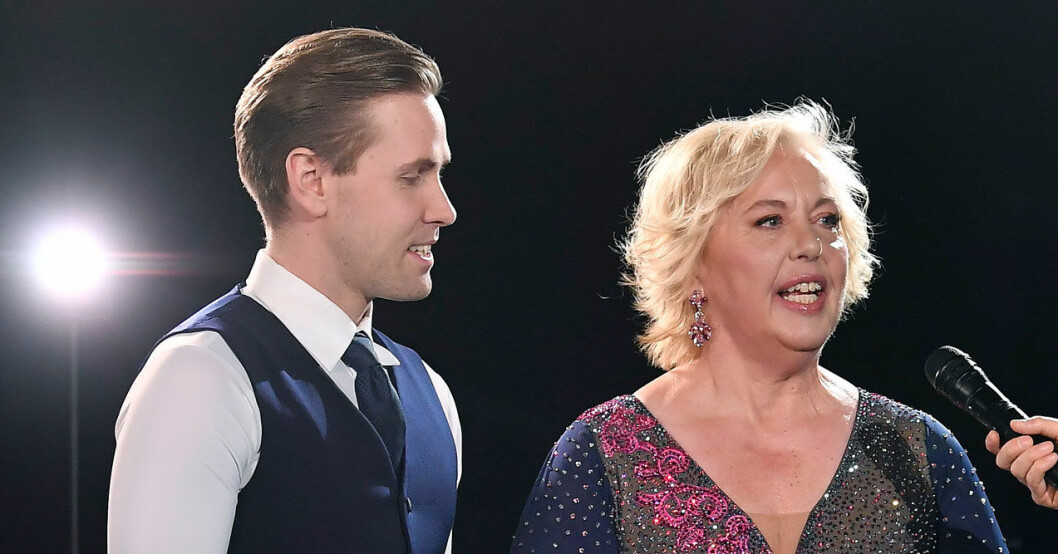 Suzanne Axell och Tobias Bader i Let's Dance 2021