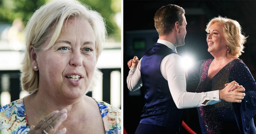 Suzanne Axell om hemliga knepen under träningarna inför Let's Dance 2021