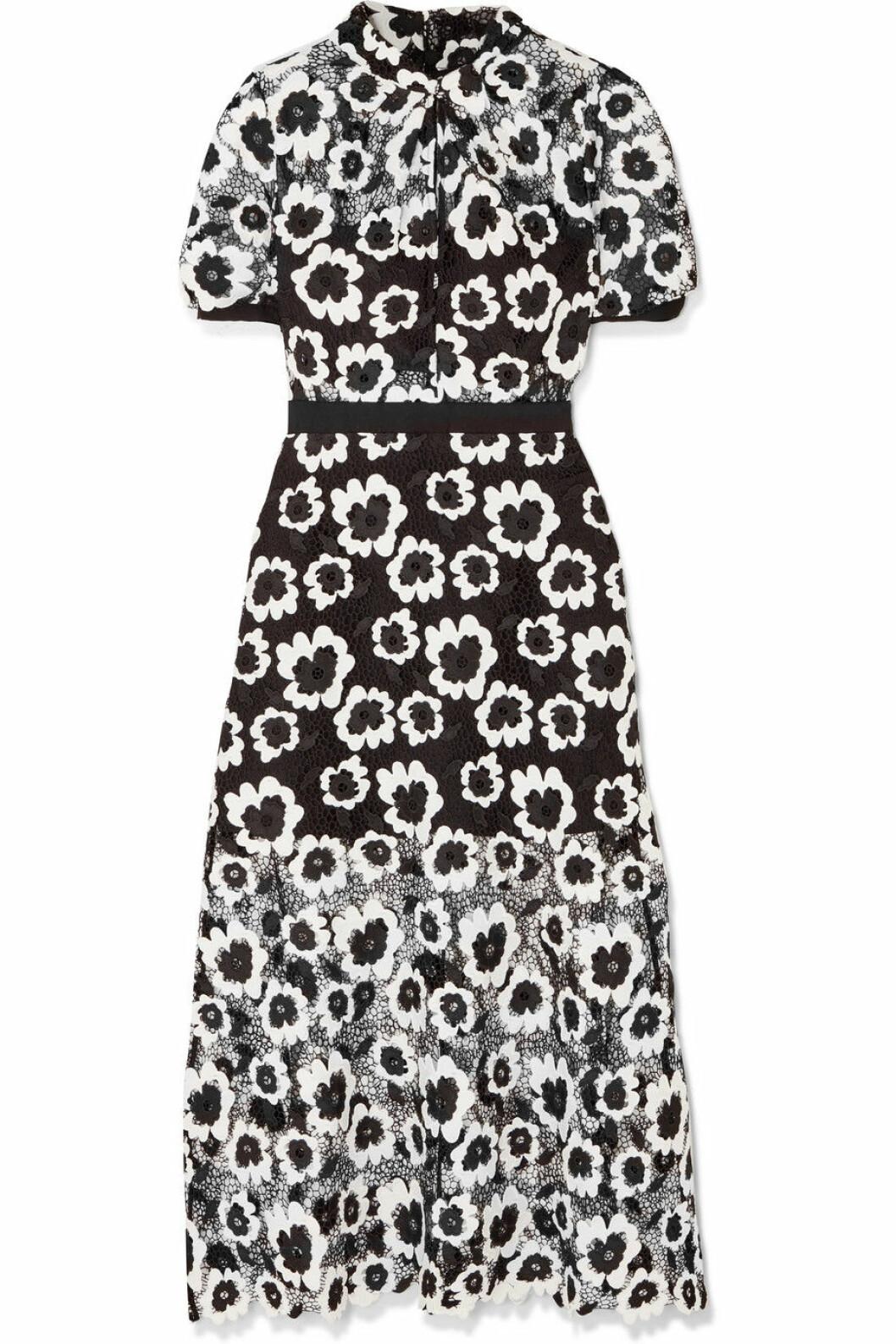 Svartvit klänning