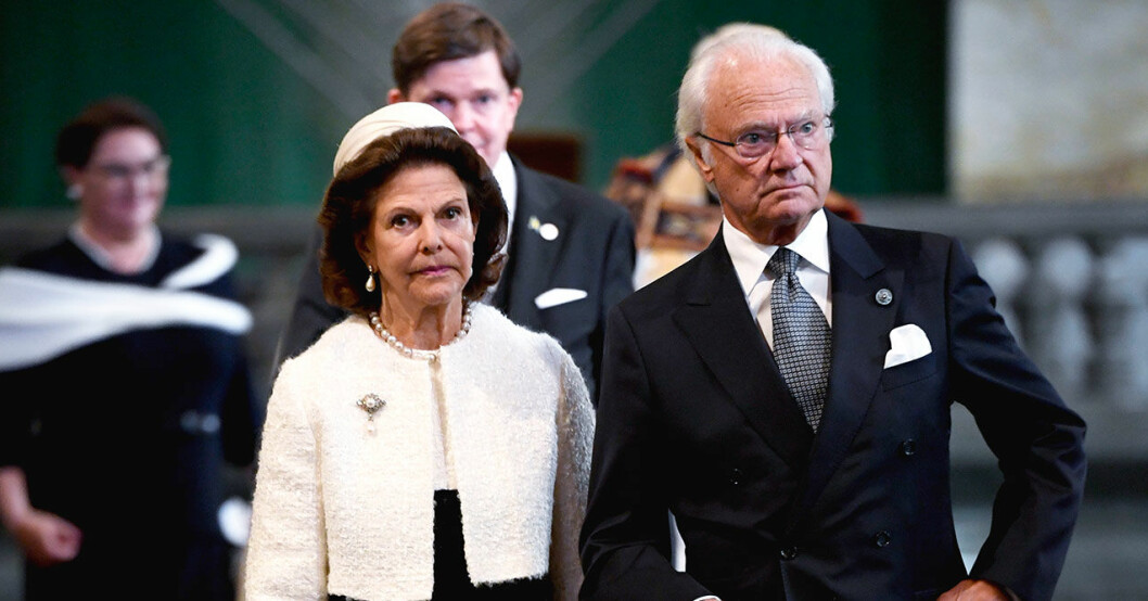 svenska kungaparet är med i the crown