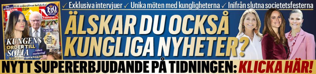 prenumerera på svensk damtidning
