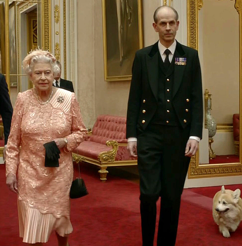 Elizabeth med Tall Paul.