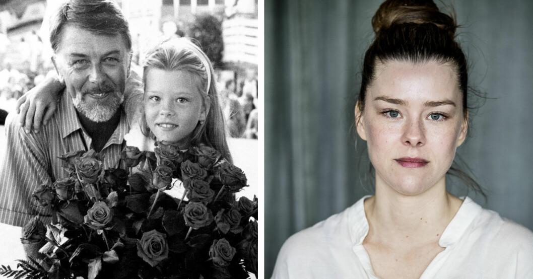 Sascha Zacharias är dotter till Sven-Bertil Taube.
