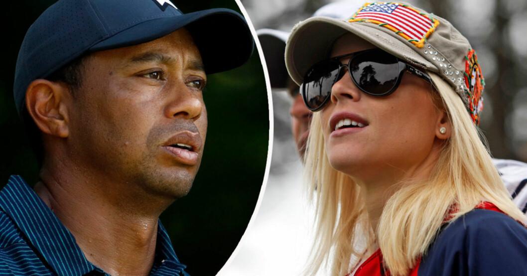 Tiger Woods och Elin Nordegren