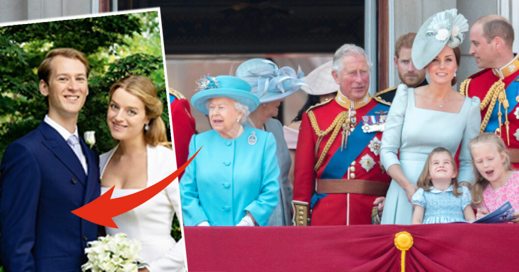 Tim Vesterberg Flora Ogilvy Drottning Elizabeth