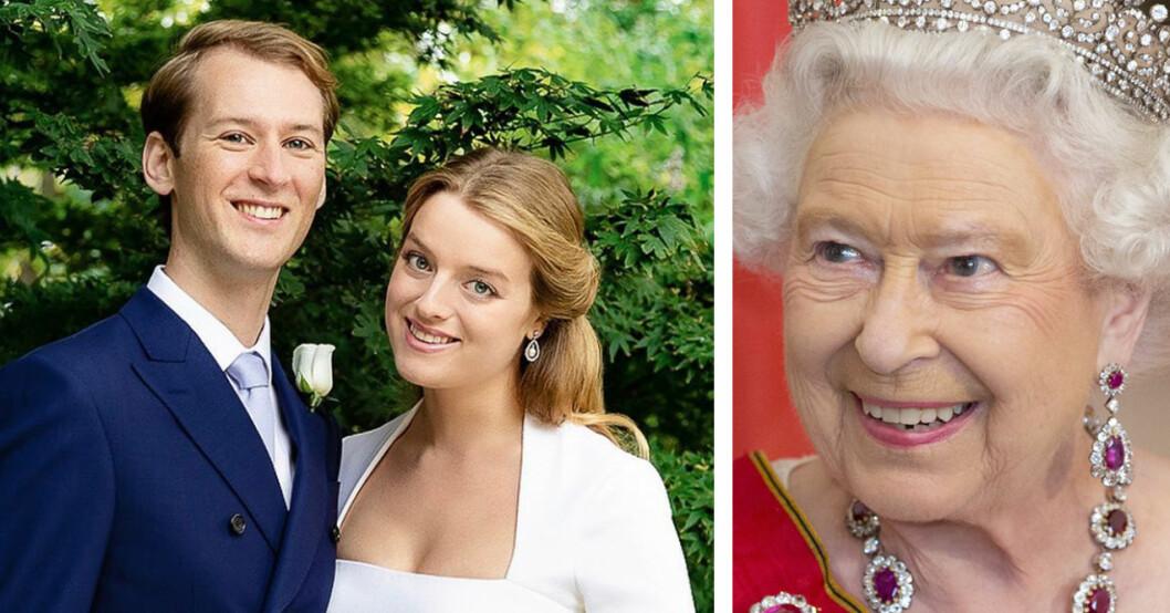 Tim Vesterberg Flora Vesterberg Flora Ogilvy Drottning Elizabeth