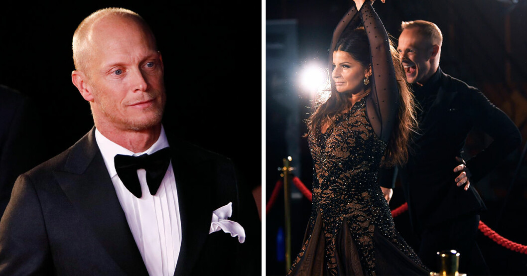 Tobias Karlsson och Carola var danspartners i årets säsong av Lets dance, tills Carola valde att avbryta.