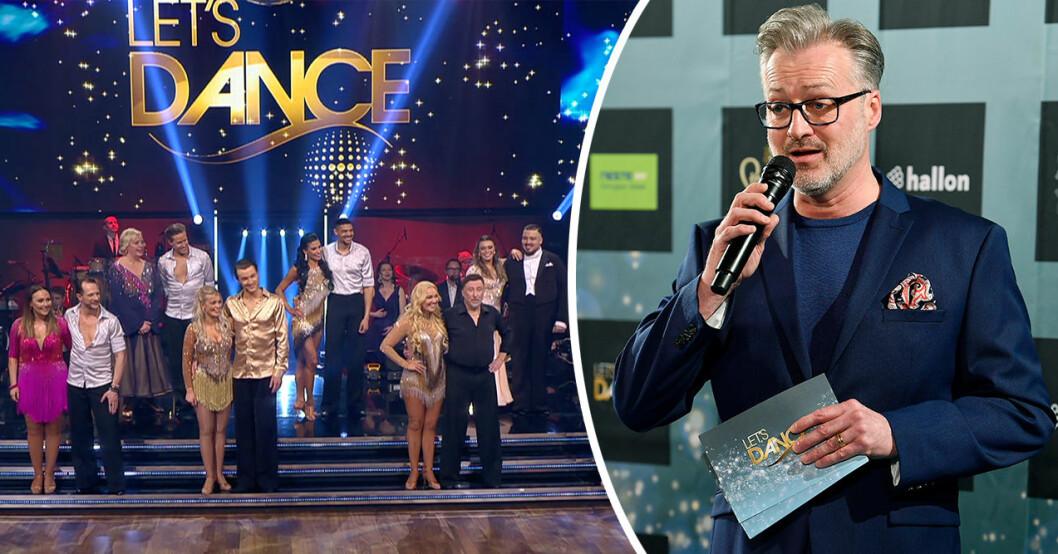 Tony Irving är en av jurymedlemmarna i Let's Dance. Nu får han ta emot några hårda ord från årets vinnare.