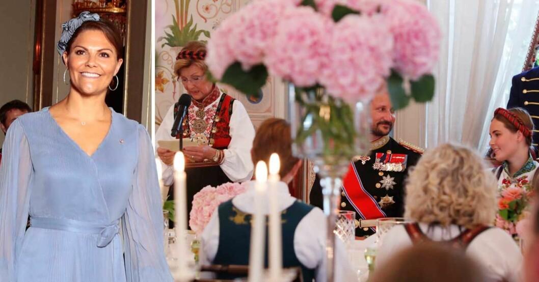 Kronprinsessan Victoria på Ingrid Alexandras konfirmation
