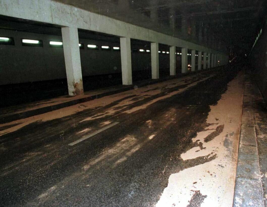 Tunneln där Diana miste livet