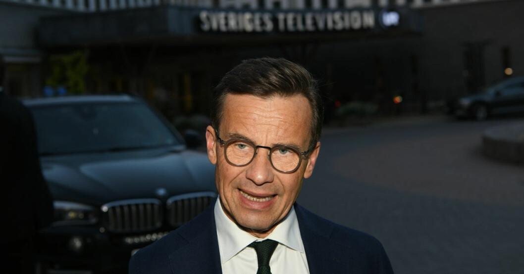 Ulf Kristersson är i sorg.