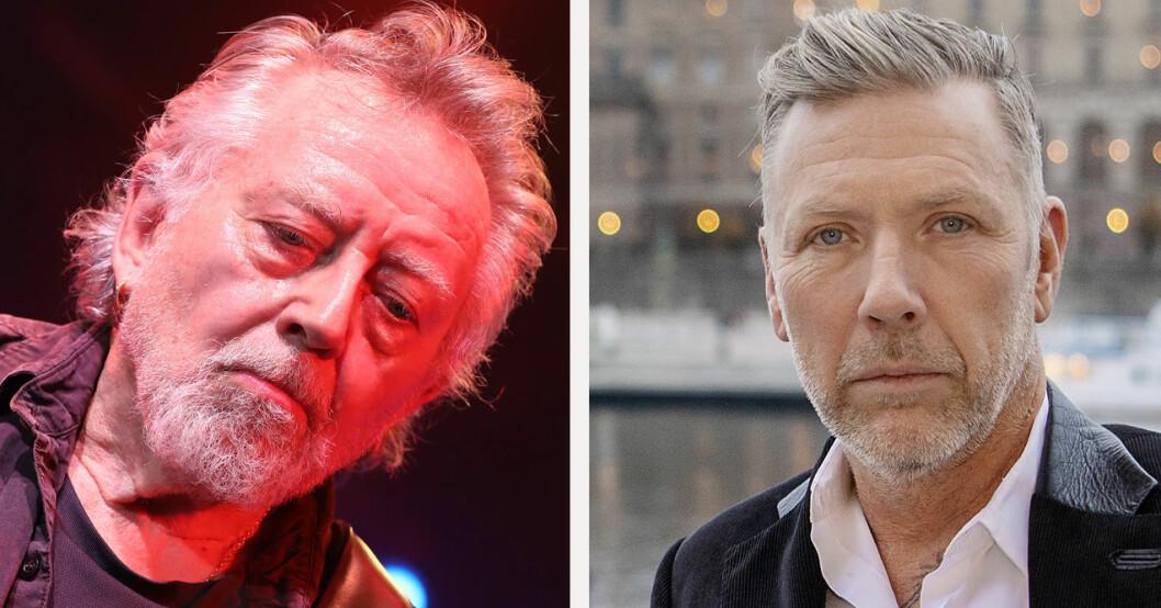 Ulf Lundell och Mikael Persbrandt