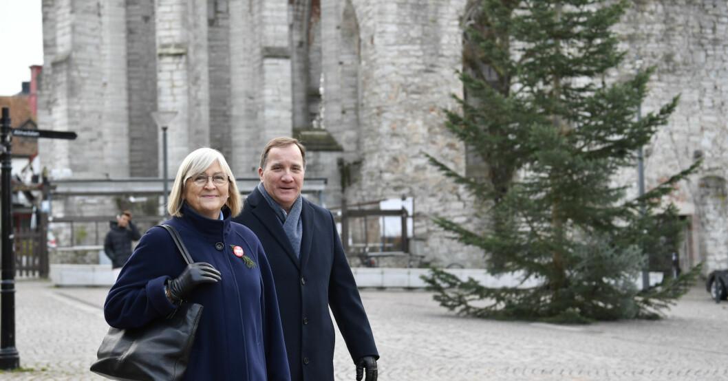 Ulla Löfven och Stefan Löfven