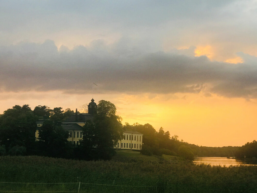 Ulriksdals slott.