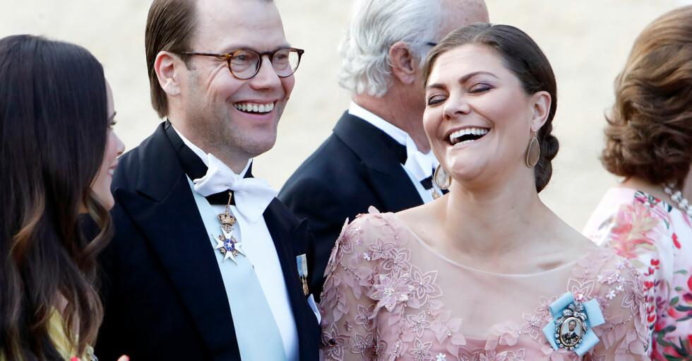 Kronprinsessan Victoria Prins Daniel Louise Gottlieb Gustav Thott bröllop 2018