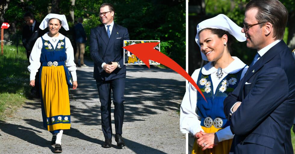 Kronprinsessan Victoria Prins Daniel Nationaldagen 2021