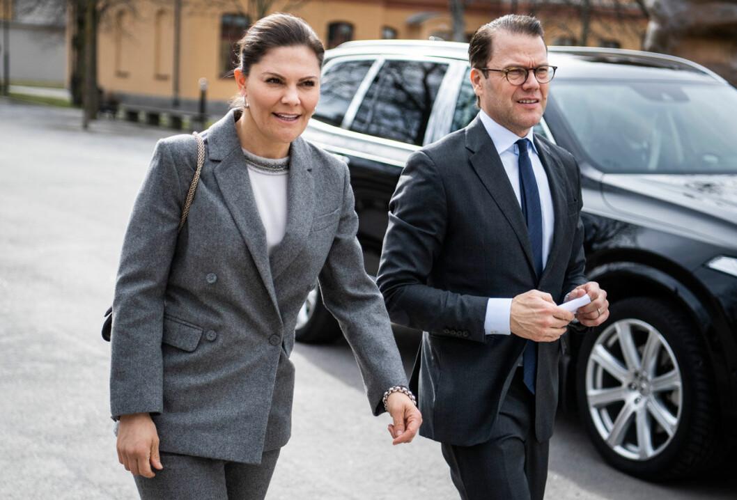 Kronprinsessan Victoria och prins Daniel besöker Albanova på KTH.