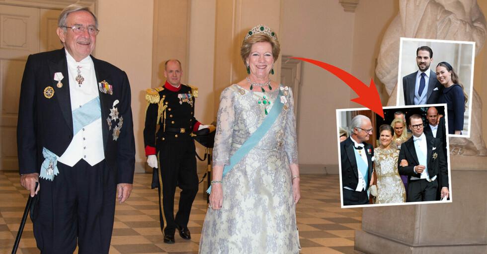 Drottning Anne-Marie Kung Konstantin Bröllop
