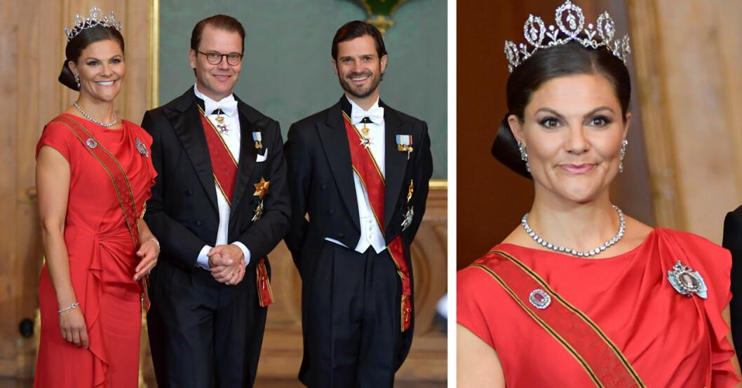 Kronprinsessan Victoria prins Daniel prins Carl Philip