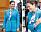 Kronprinsessan Victoria turkos blå kostym Knytblus Camilla Thulin