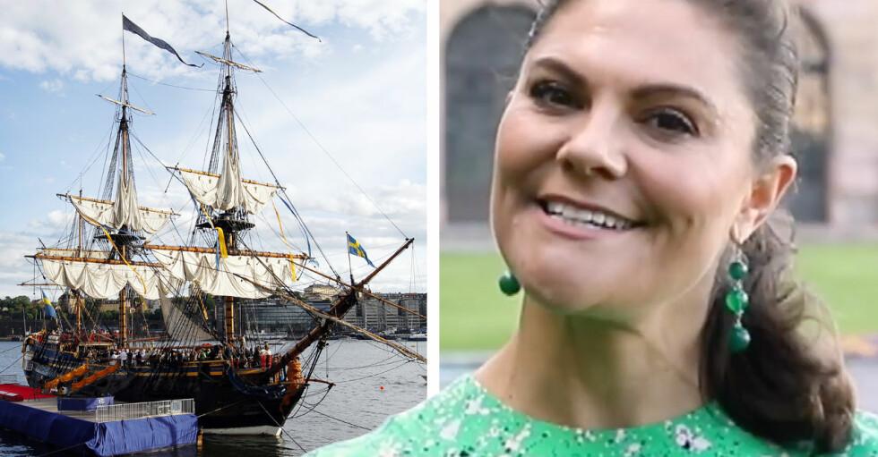 Kronprinsessan Victoria Göteborg 400 år Ostindiefararen Götheborg