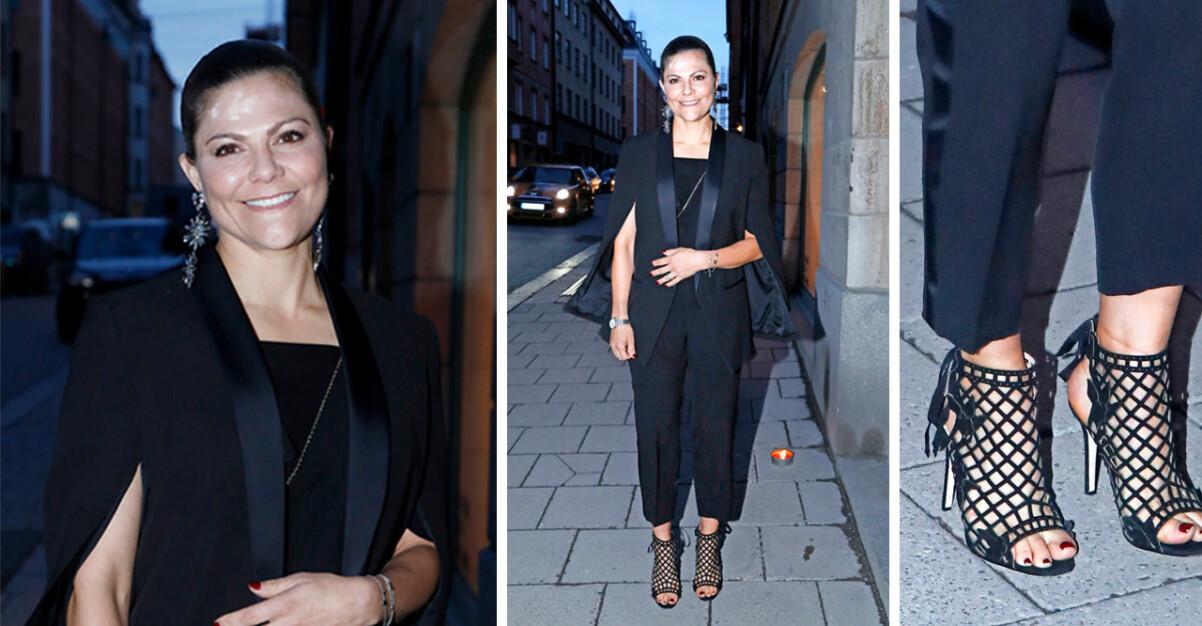 Kronprinsessan Victoria Caroline Dinkelspiel 40-årsfest