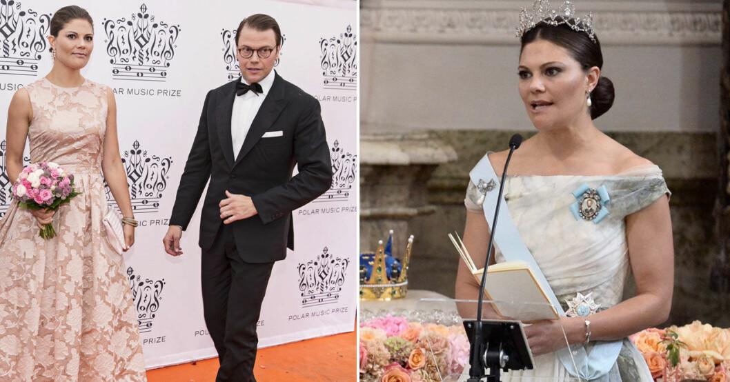 Polarpriset 2014 och vigseln mellan prins Carl Philip och prinsessan Sofia – två högtidliga tillfällen då Victoria överraskat genom att bära H&M-kläder.