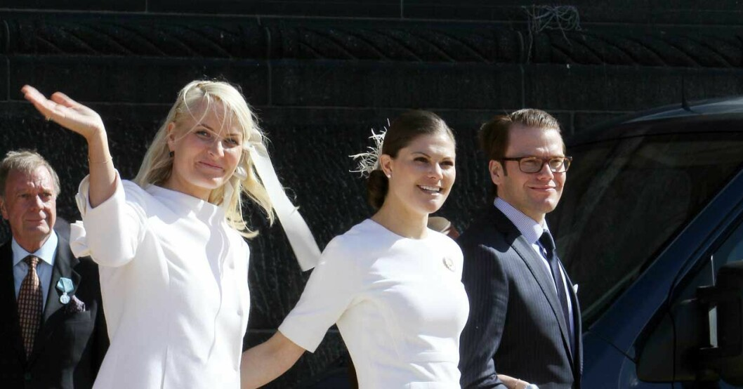 kronprinsessan victoria kronprinsessan mette-marit