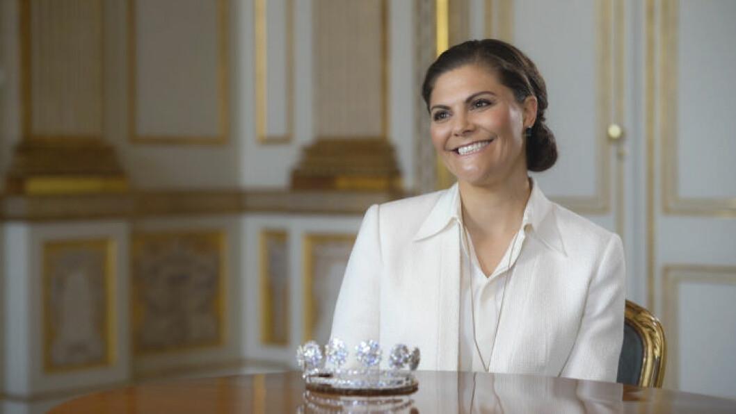 Victoria i SVT:s Kungliga smycken