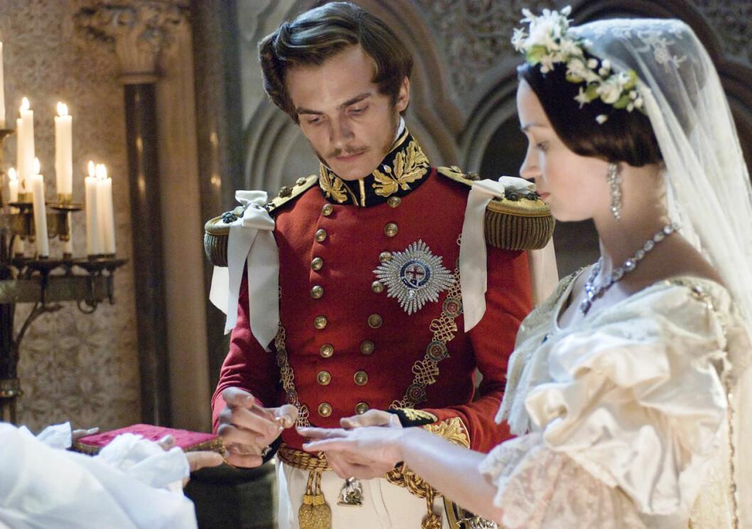 Filmen Young Victoria från år 2009 handlar bland annat om Victorias och Alberts passionerade kärlekshistoria.