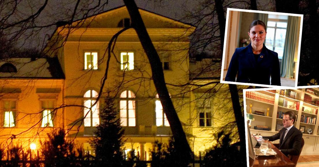 Kronprinsessan Victoria Prins Daniel Haga slott
