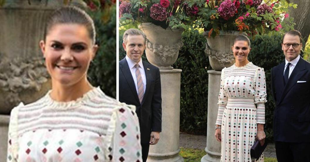 Kronprinsessan Victoria prins Daniel USA:s ambassadör Kenneth Ken Howery
